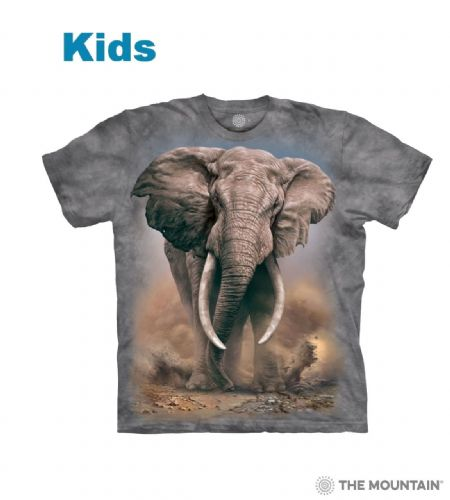 African Elephant - Kids T-shirt - The Mountain®